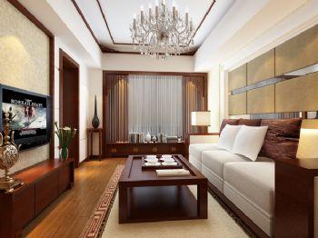 新中式一居室设计案例
