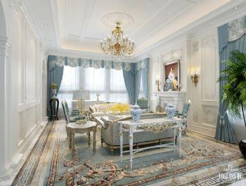 混搭别墅设计案例欣赏混搭风格客厅装修图片