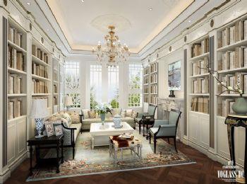 混搭别墅设计案例欣赏混搭风格书房装修图片