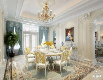 混搭别墅设计案例欣赏混搭风格餐厅装修图片
