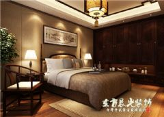 農村四合院設計中式風格臥室裝修圖片