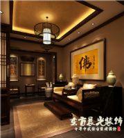農村四合院設計中式風格客廳裝修圖片