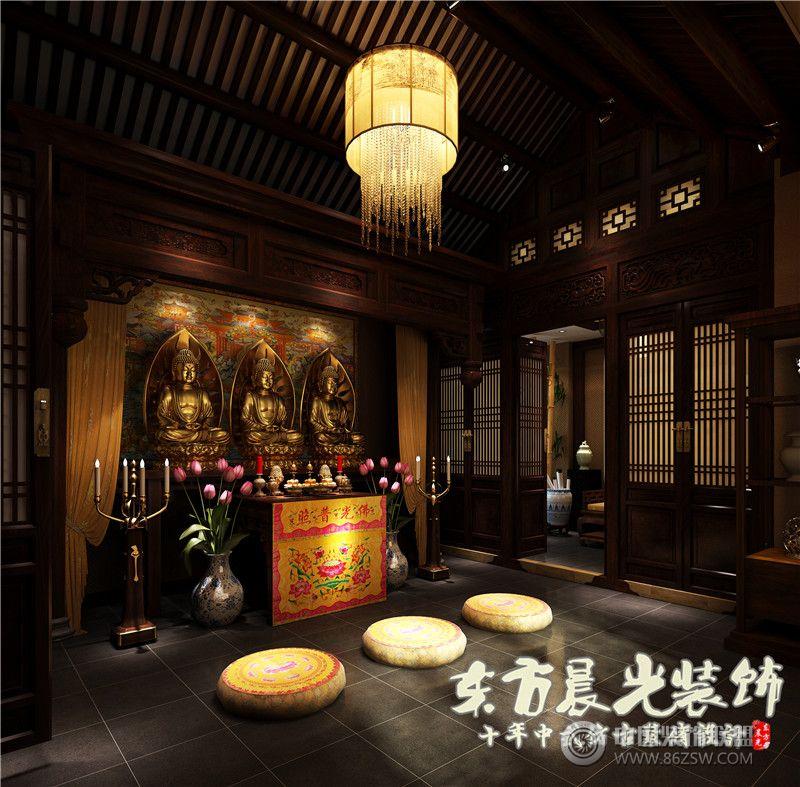 小樓房四合院設計-其它裝修效果圖-八六(中國)裝飾