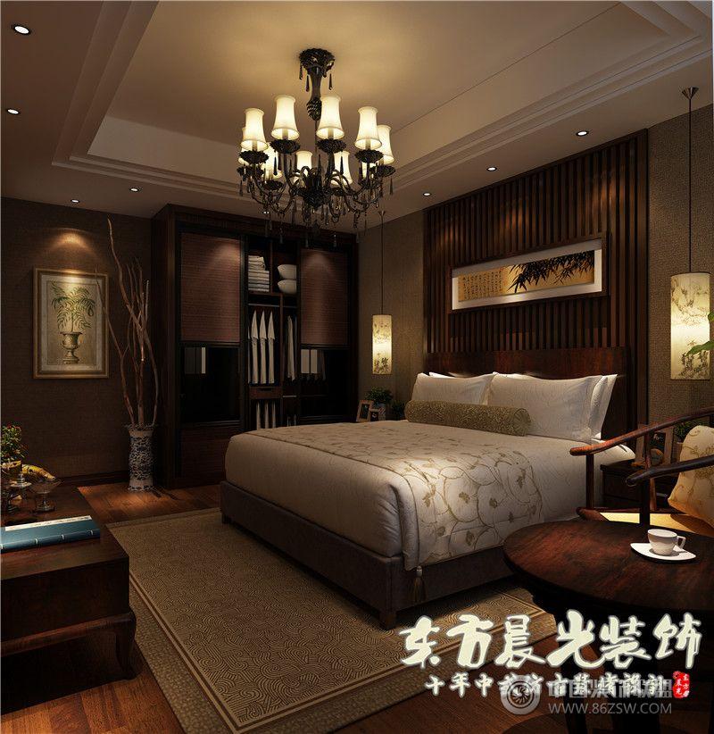 中式装修-平房四合院设计图-卧室装修图片