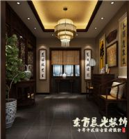 标准四合院设计-时尚中式设计理念中式风格装修图片