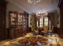 成都尚层装饰别墅装修暴力198别墅美式风格案例欣赏美式风格客厅装修图片