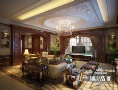 成都尚层装饰别墅装修暴力198别墅美式风格案例欣赏美式风格卧室装修图片