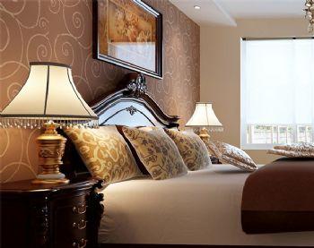 北歐風格五居裝修案例歐式風格臥室裝修圖片