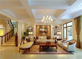 北歐風格五居裝修案例歐式風格客廳裝修圖片