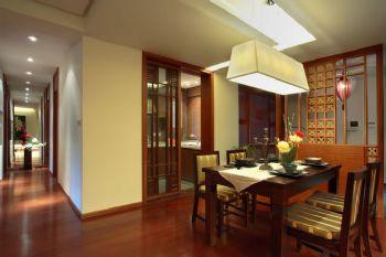 東南亞風格四居室裝修案例東南亞風格餐廳裝修圖片