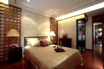 東南亞風格四居室裝修案例東南亞風格臥室裝修圖片