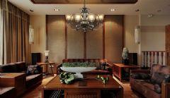 經典華藝中式風格客廳裝修圖片