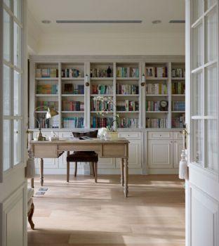 现代简约风格三居现代风格书房装修图片