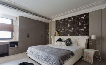 混搭式公寓设计案例混搭风格卧室装修图片