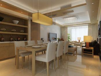 简约日式家居装修案例简约风格餐厅装修图片