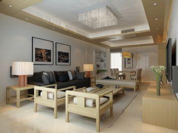 简约日式家居装修案例简约风格客厅装修图片