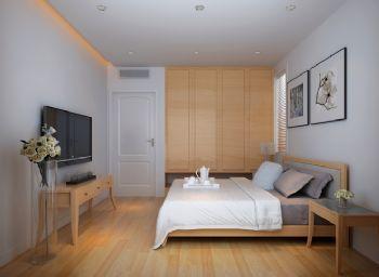 简约日式家居装修案例简约风格卧室装修图片