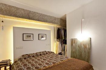 北欧风格小户型设计简约风格卧室装修图片