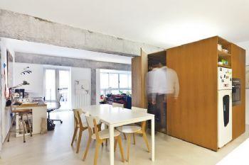 北欧风格小户型设计简约风格餐厅装修图片