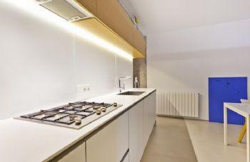 北欧风格小户型设计简约风格厨房装修图片