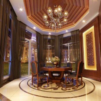東南亞風格別墅設計案例東南亞風格餐廳裝修圖片