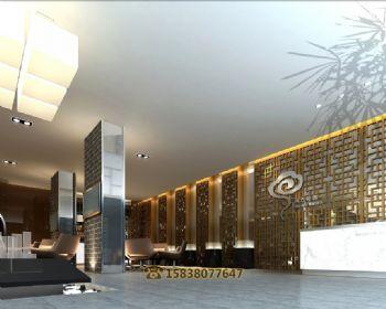 开封宏达紫云台售楼部整体设计
