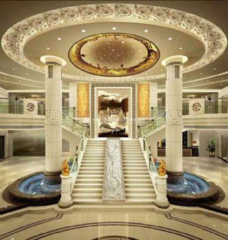 中式風格盛世王城假日酒店裝修