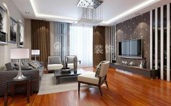 【淮南博大装饰】淮南绿茵里现代简约装修案例现代风格三居室