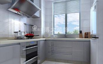 【淮南博大装饰】淮南绿茵里现代简约装修案例现代风格厨房装修图片