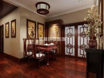 中式风格装修案例中式风格餐厅装修图片