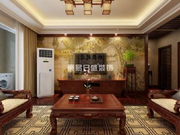 中式风格装修案例中式风格客厅装修图片