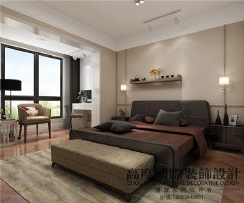 现代简约风格公寓装修案例现代风格卧室装修图片