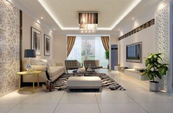 现代简约客厅设计大全现代风格客厅装修图片