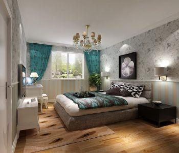 温馨实用家居设计案例简约风格卧室装修图片