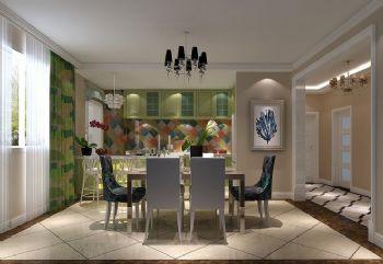 温馨实用家居设计案例简约风格餐厅装修图片