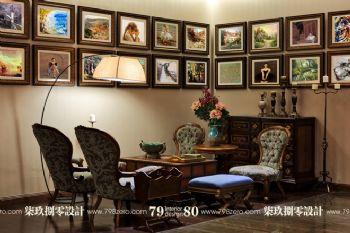 高端豪宅設計案例欣賞古典風格餐廳裝修圖片