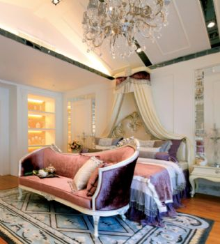 歐式古典別墅裝修效果圖歐式風格臥室裝修圖片