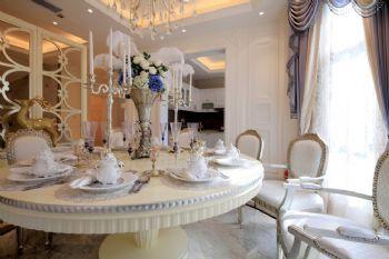 欧式古典别墅装修效果图欧式风格餐厅装修图片