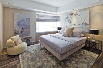 现代简约别墅装修效果图现代风格卧室装修图片