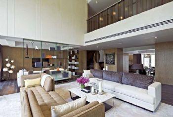 现代简约别墅装修效果图现代风格客厅装修图片