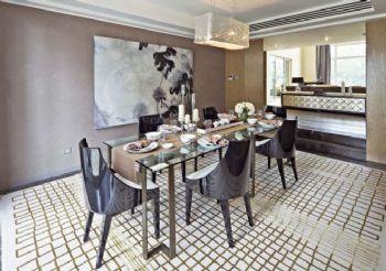 现代简约别墅装修效果图现代风格餐厅装修图片