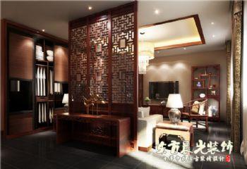 仿古四合院装修设计实用美感中式风格大户型