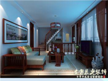 四合院别墅装修极具特色中式风格别墅