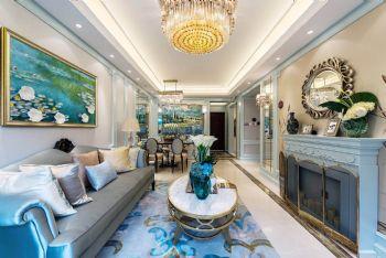 现代巴黎美式风格二居室