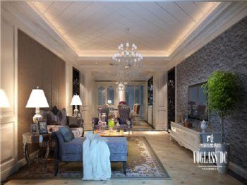 成都尚层装饰别墅装修|城南一号高端住宅现代简约风格案例现代风格客厅装修图片