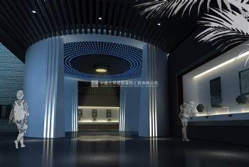 中式風格博物館禹州鈞官窯博物館展廳裝修圖片