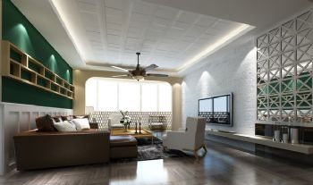 后现代混搭公寓设计案例