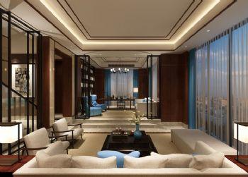 现代中式风格别墅设计图