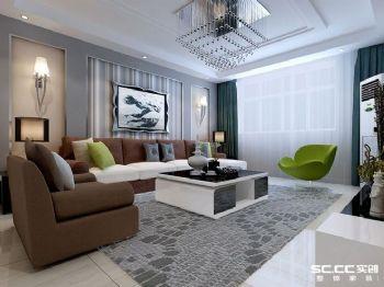 81平米现代风格二居室设计图