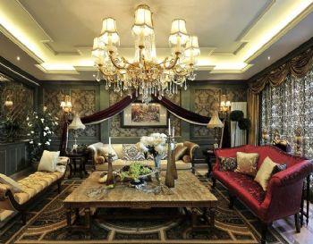 奢华美式风格别墅效果图